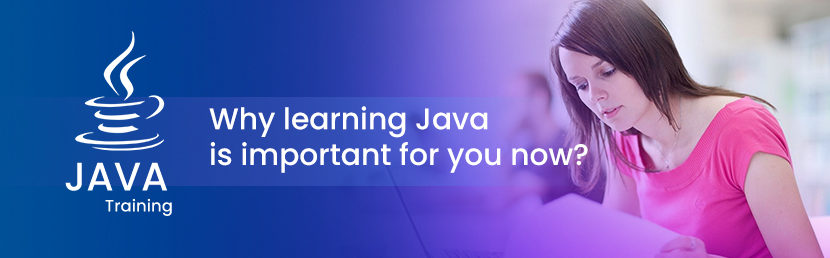 Why learning Java is important for you now